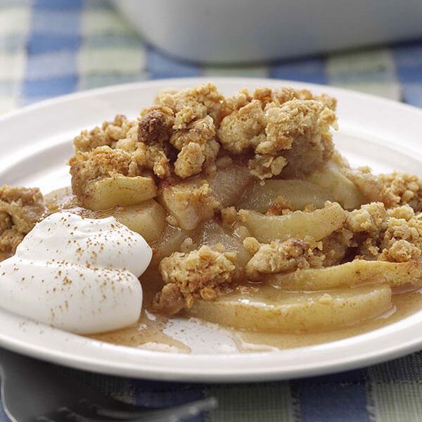 Apple 'n Peanut Crisp – Recipes