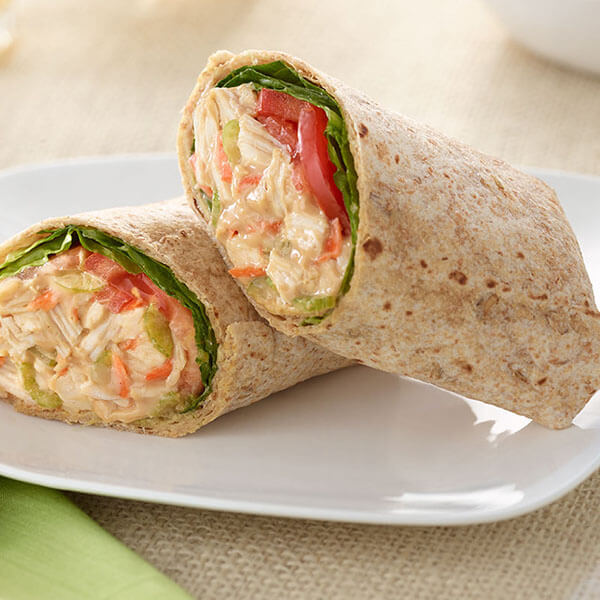 Oriental Chicken and Peanut Butter Wraps – Recipes