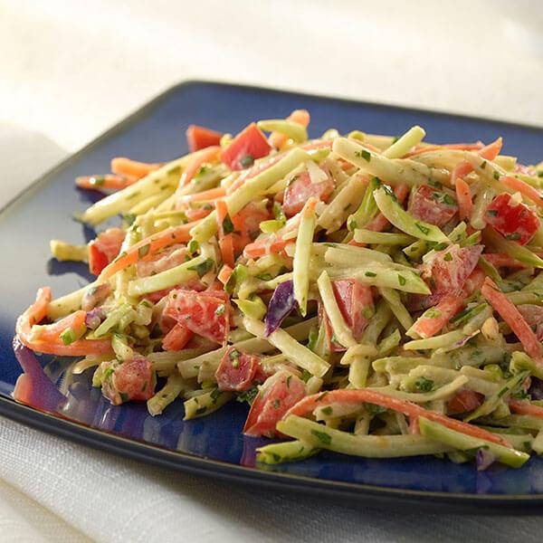 East Asian Peanut Broccoli Slaw – Recipes