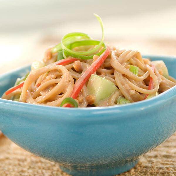 Oriental Peanut Noodle and Vegetable Salad – Recipes