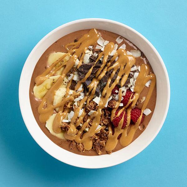 Chocolate PB Banana Smoothie Bowl – Recipes