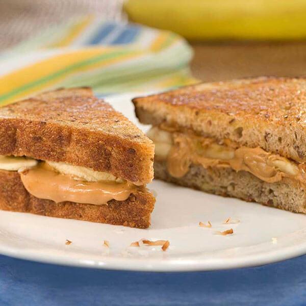 Cinnamon Banana Peanut Butter Paninis – Recipes