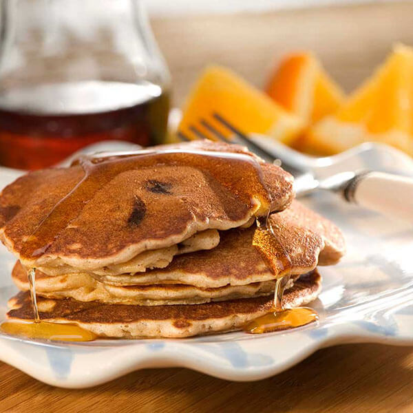 Nutty Banana Chocolate Chip Pancakes – Recipes