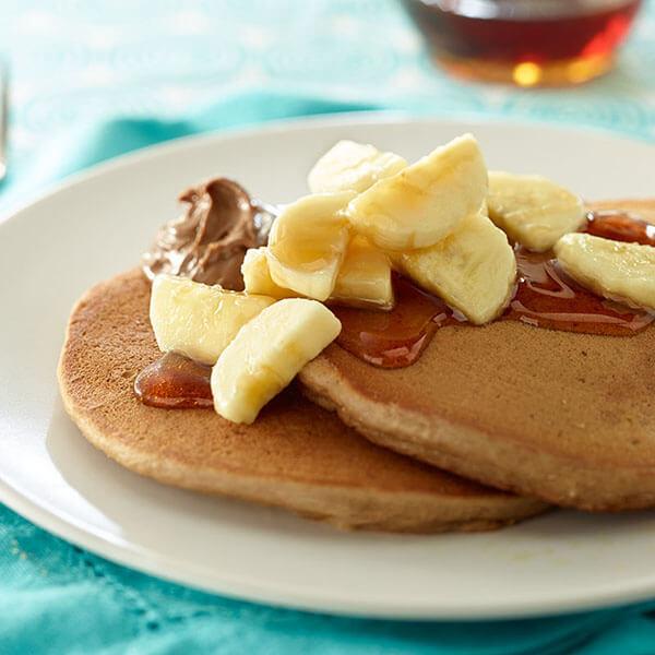 Nutty Banana Pancakes – Recipes
