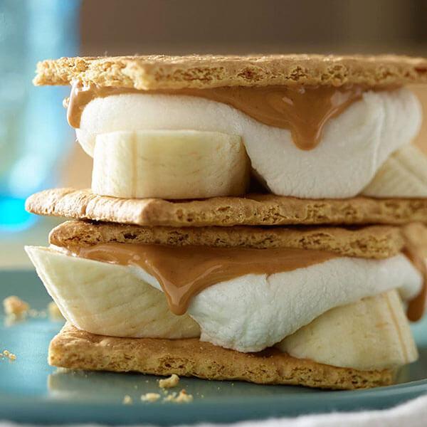 PB Banana S'mores – Recipes