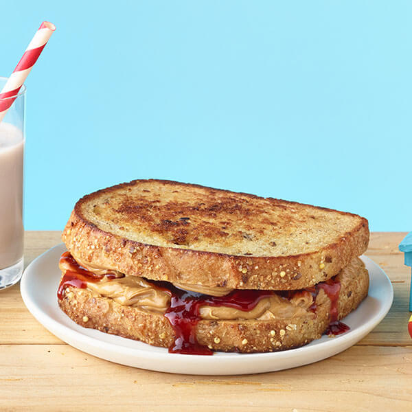 Peanut Butter and Chipotle Jam Sandwich- Recipes