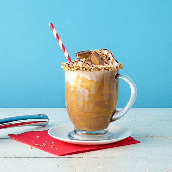 Peanut Butter Hot Chocolate Float – Recipes