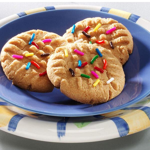 Peanut Butter Quick Cookies- Recipes