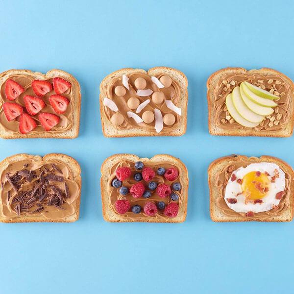 Peanut Butter Toasts – Recipes