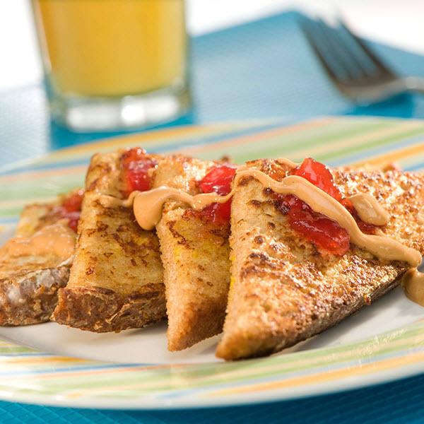 Quick PB&J French Toast – Recipes