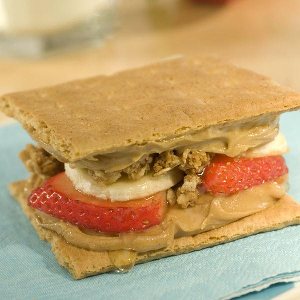 PB Sandwich Snacks – Recipes