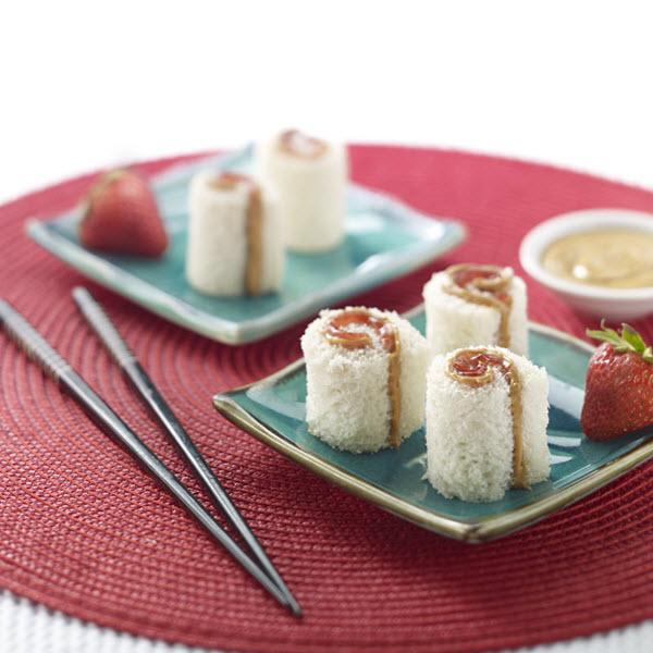"Peanut Butter ""Sushi"" Rolls – Recipes"