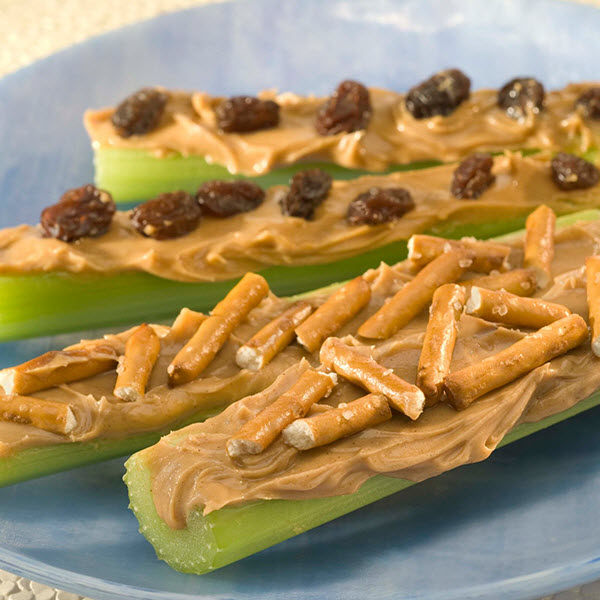 Ants On A Log Recipes Skippy Sup Sup Brand Peanut Butter