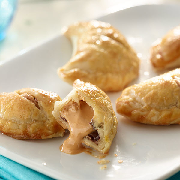 Peanut Butter and Chocolate Croissants – Recipes