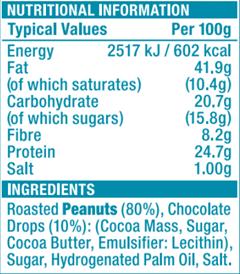 SKIPPY® Choc Chip Swirl Peanut Butter